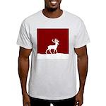 Deer in the snow Light T-Shirt