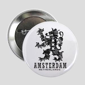 "Amsterdam Netherlands 2.25"" Button"
