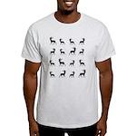 Deer silhouette pattern Light T-Shirt