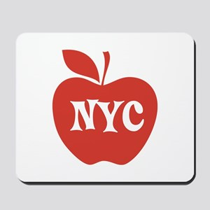 New York CIty Big Red Apple Mousepad