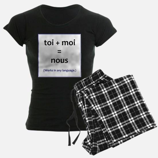 toi + moi = nous Pajamas