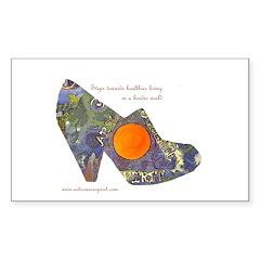 artsciencespirit shoe Sticker (Rectangle 10 pk)