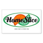 Homeslicelogoonly2009tra Sticker (Rectangle 50 pk)