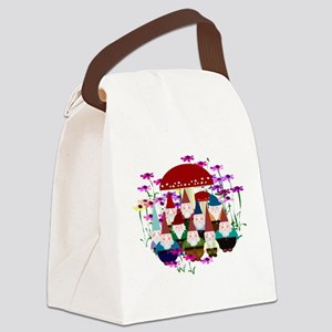 Gnomeses Canvas Lunch Bag