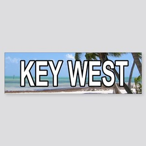 KW (Key West) Bumper Sticker