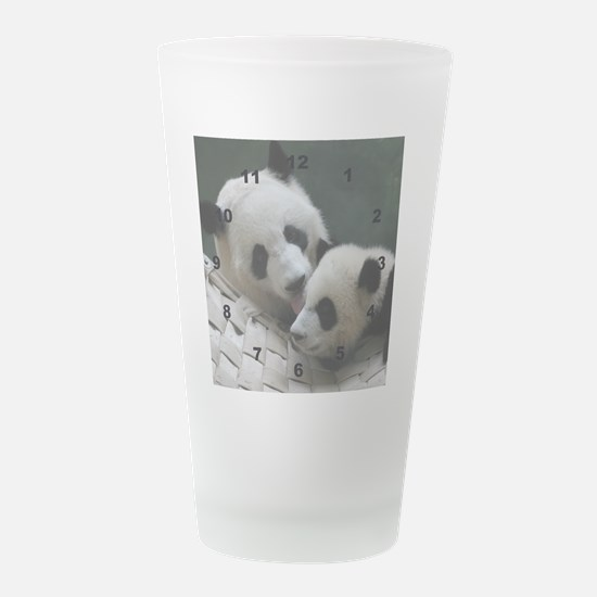 babymompanda.png Frosted Drinking Glass