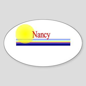 Nancy Oval Sticker