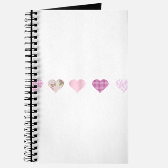 Pink Hearts Journal