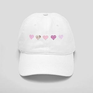 Pink Hearts Cap