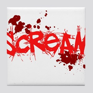 Scream Tile Coaster