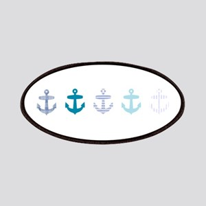 Blue anchors Patches