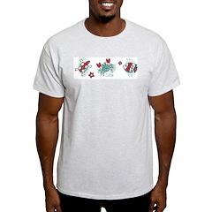 Blue Lagoon Ash Grey T-Shirt
