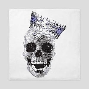 Skull with Crown Queen Duvet