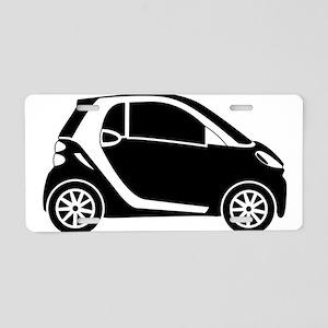 Smart Car Aluminum License Plate