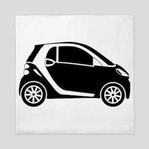Smart Car Queen Duvet
