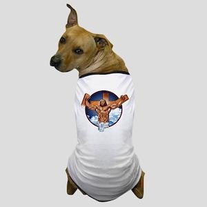 Strong Jesus Dog T-Shirt