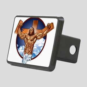 Strong Jesus Rectangular Hitch Cover