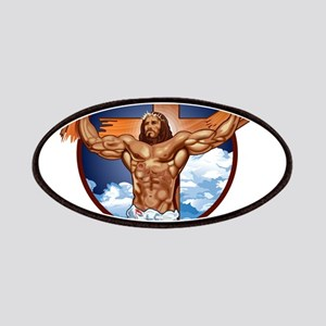Strong Jesus Patches