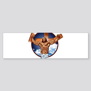 Strong Jesus Sticker (Bumper)