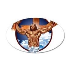 Strong Jesus Wall Decal