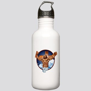 Strong Jesus Stainless Water Bottle 1.0L