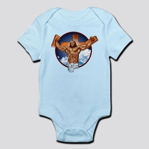 Strong Jesus Infant Bodysuit