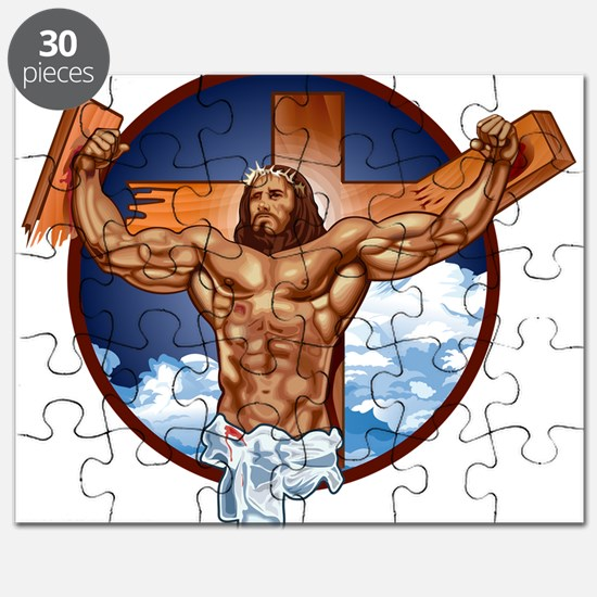 Strong Jesus Puzzle