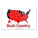Shirt_NewBushCountry_B   Sticker (Rectangle 10 pk)