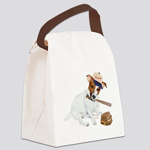 Fun JRT product, Baseball Fever Canvas Lunch Bag