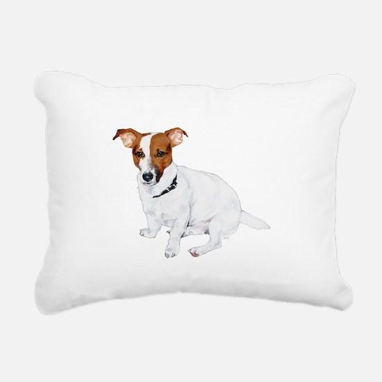 JRT FLip Paw Prints.png Rectangular Canvas Pillow