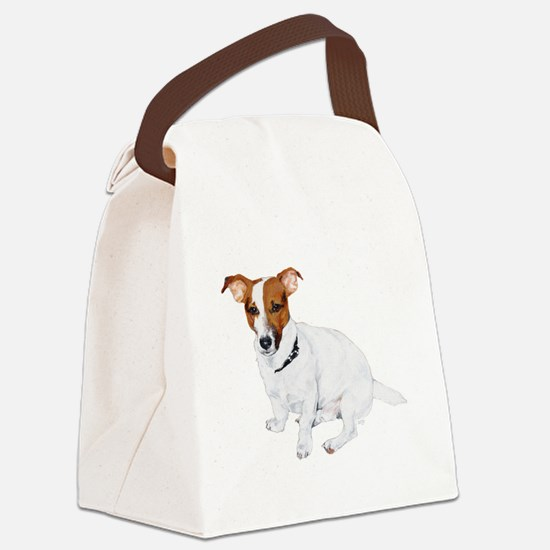 JRT FLip Paw Prints.png Canvas Lunch Bag