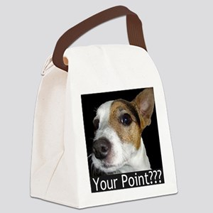 JRT Your Point? Canvas Lunch Bag