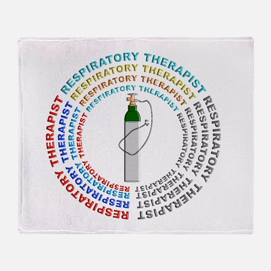 Respiratory Therapy Throw Blanket