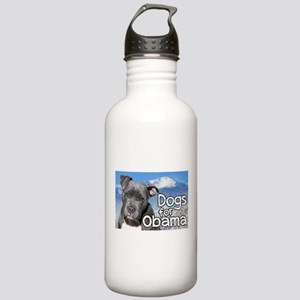 Dogs for Obama Stainless Water Bottle 1.0L