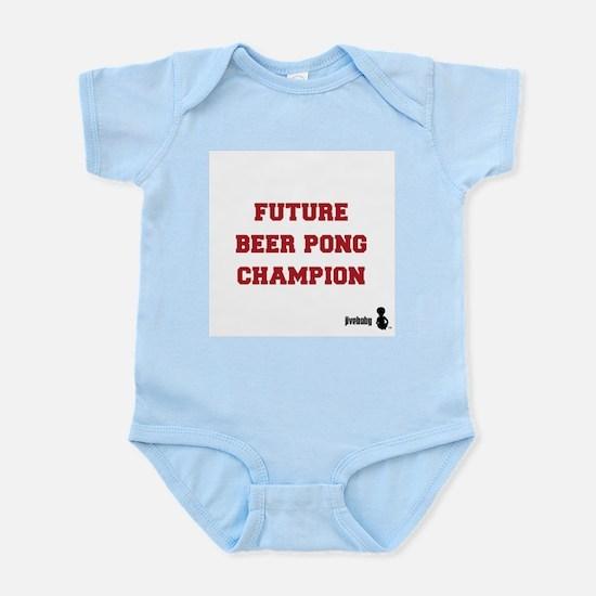 Future Beer Pong Champion Infant Bodysuit