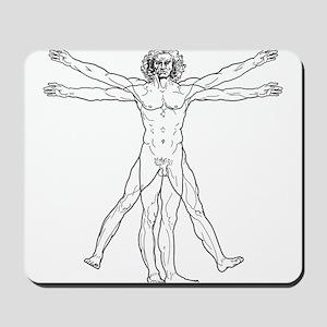 Vitruvian Man Mousepad