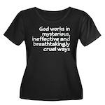 God Works In Mysterious Ways Women's Plus Size Sco