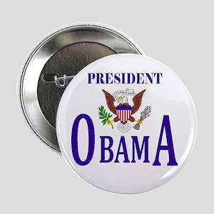 """Pres. Obama 2.25"""" Button"""
