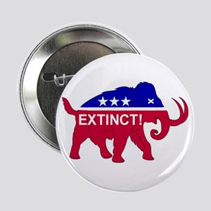 """GOP Extinct! 2.25"""" Button"""