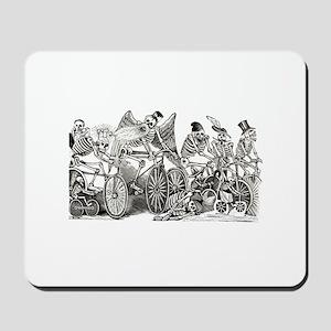Calaveras on Wheels Mousepad