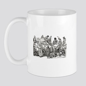 Calaveras on Wheels Mug