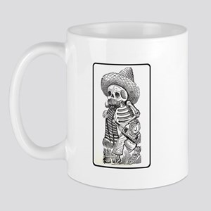 Calavera with Bottle Mug