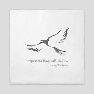 Feathered Hope Queen Duvet