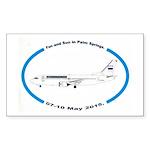 Fun and Sun in Palm Spri Sticker (Rectangle 50 pk)