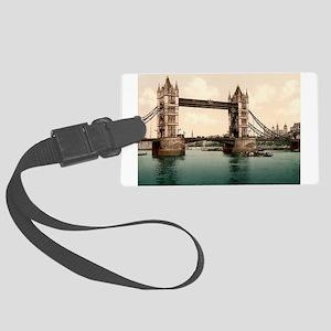 Tower Bridge Large Luggage Tag
