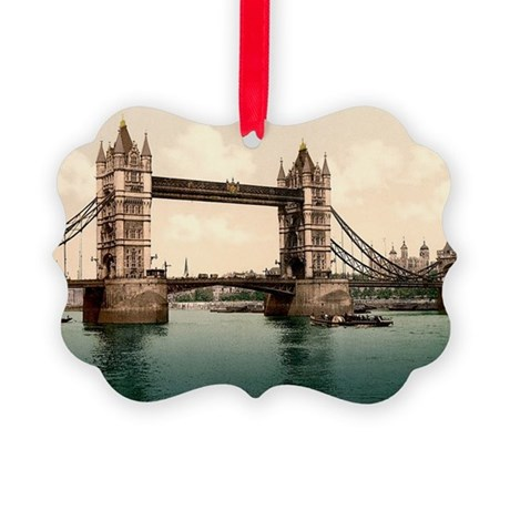 Tower Bridge Picture Ornament
