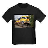 Alaska railroad Kids T-shirts (Dark)