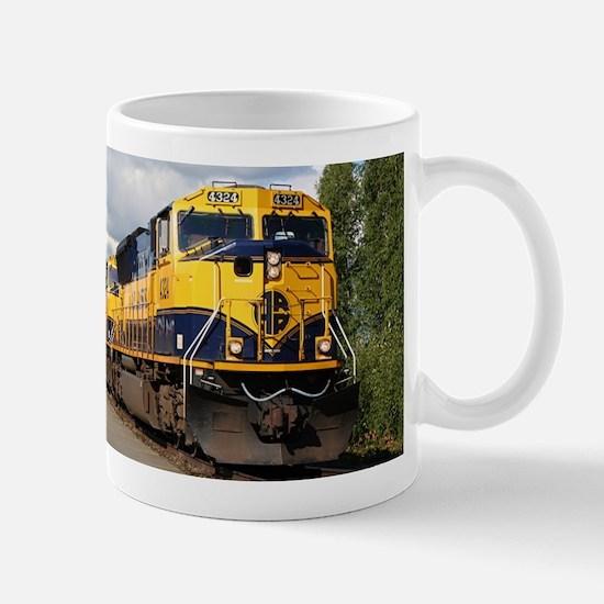 Alaska Railroad engine Mug