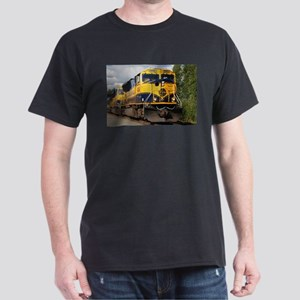 Alaska Railroad engine Dark T-Shirt