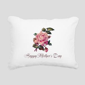 Mother's Rose Rectangular Canvas Pillow